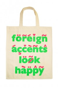 Foreign Accents Tote