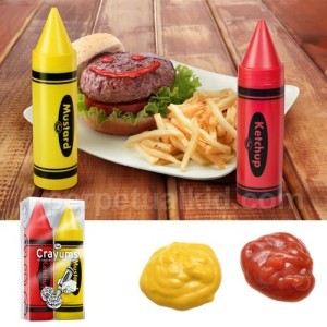 Ketchup and Mustard Crayums