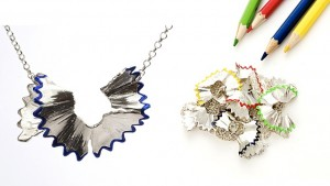 Pencil Shaving Necklace