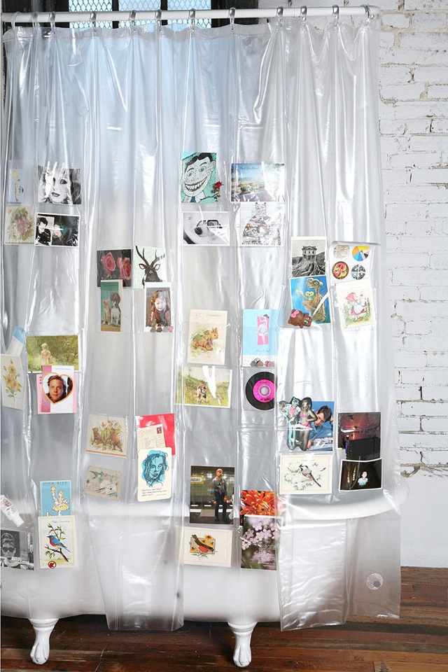 Pockets Shower Curtain | HolyCool.