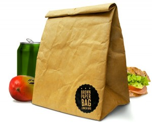 Reusable Brown Paper Bag