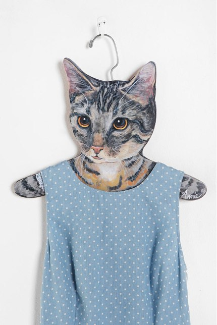 Animal Clothes Hanger - Cat