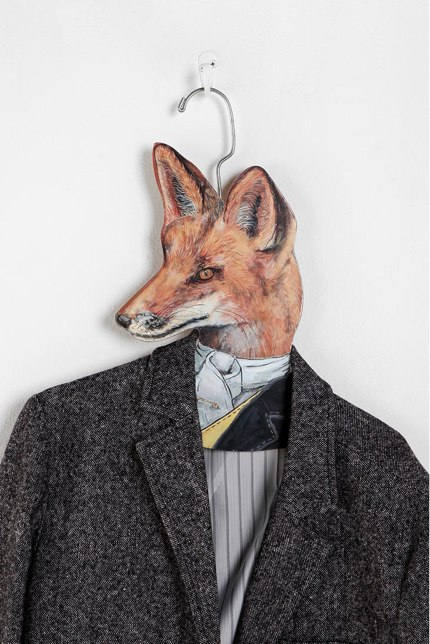 Animal Clothes Hanger - Fox