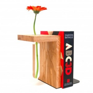 Canterlever Bookend Vase
