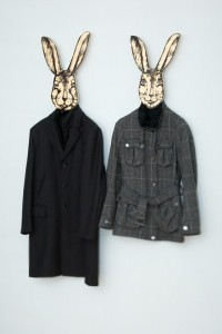 Rabbit Coat Hanger