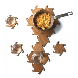 Zesch Interlocking Coasters_Trivet