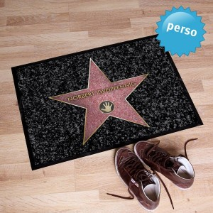 Personalized Walk of Fame Doormat