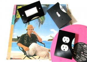 Record Switch Plates and Outlet Covers