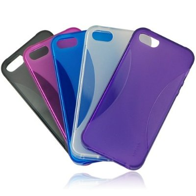 splash VAPOR Slim-Fit Flex Case for iPhone 5