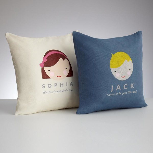 Personalized Kids Faces Pillow Covers HolyCoolnet Mesmerizing Customized Pillow Covers