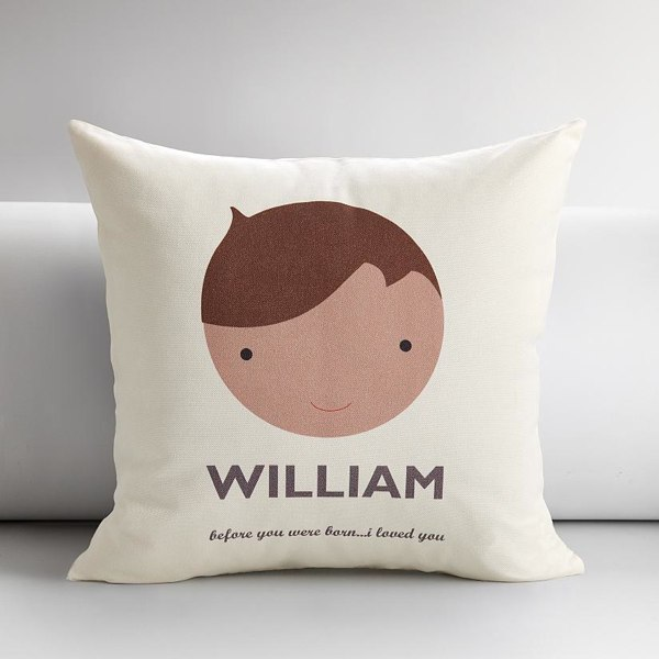 Personalized kids faces pillow covers holycoolnet for Cheap kids pillows