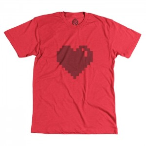 Pixelivery Heart Tee