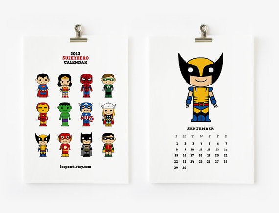 Cute Calendar Illustration : Cool creative calendars for holycool