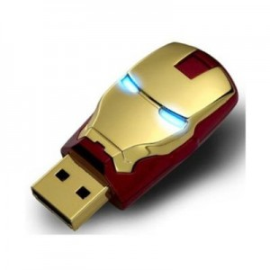 2012 Marvel Avengers Movie Iron Man Mark Iv 8gb Usb2.0 Flash Drive