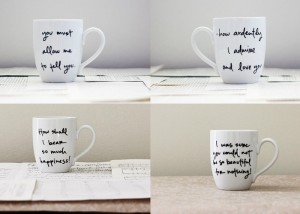 Jane Austen Quotes Mugs
