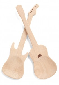 Rock and Escarole Salad Servers