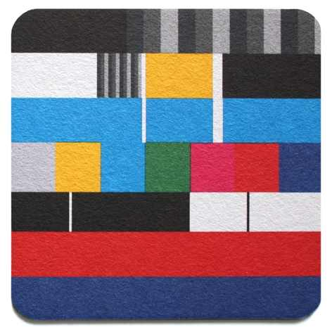 TV Test Card Coasters