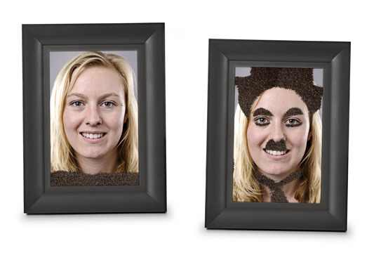 Fuzzy Face Photo Frame