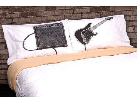 Guitar and Amp Pillowcase Set