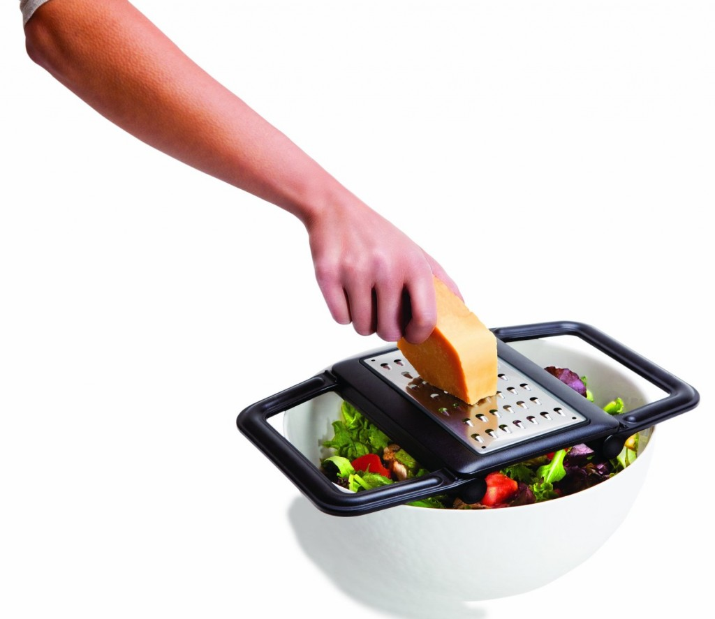 Quirky GRP-1-CW1 Grip Grater Multi-Position Cheese Grater_
