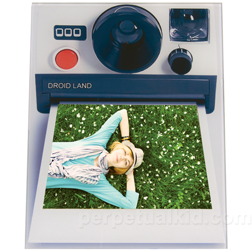 Retro Camera Photo Frame