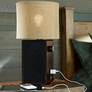 Speaker Lamp Base