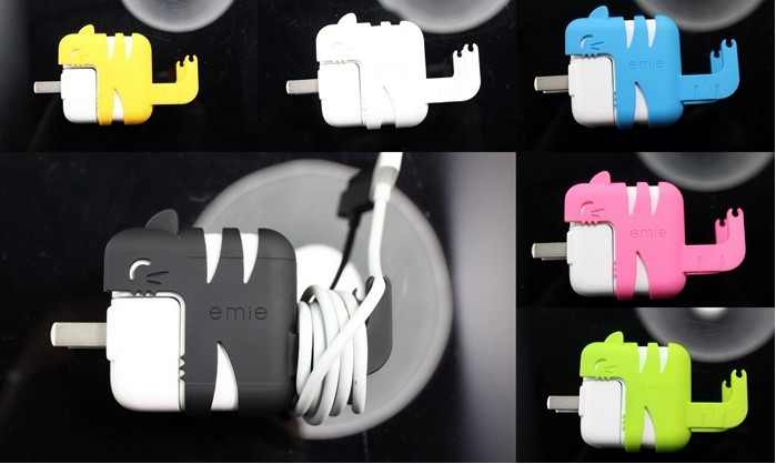 iCat & iMouse Case Holder For Apple Power Adaptor111