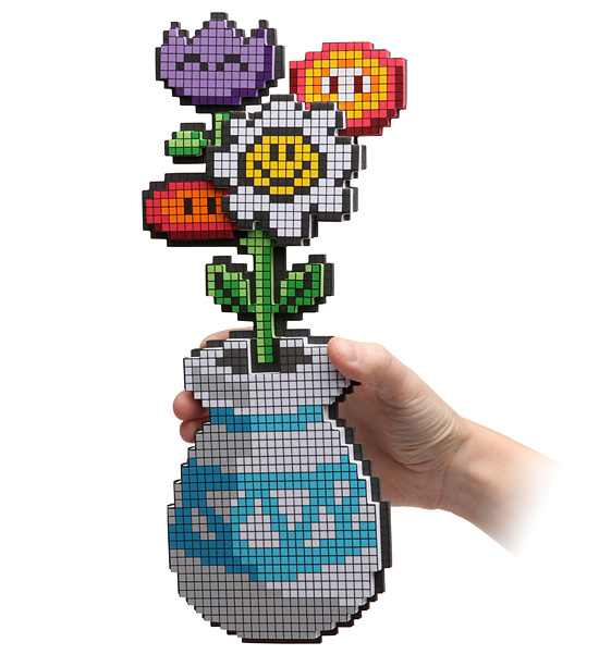 8 Bit Flower Bouquet