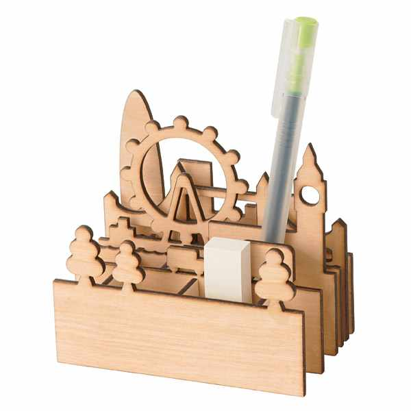Cityscape Pen Holder_London
