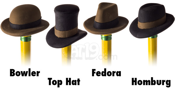 Pencil Hat Eraser Set