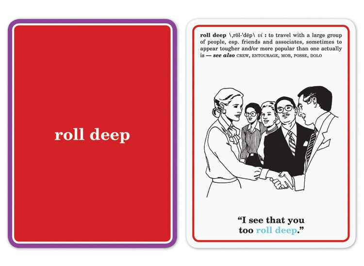 Slang Flash Cards