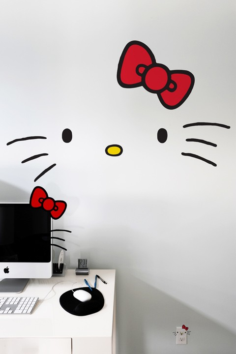 Hello Kitty Faces Wall Decals Holycool Net