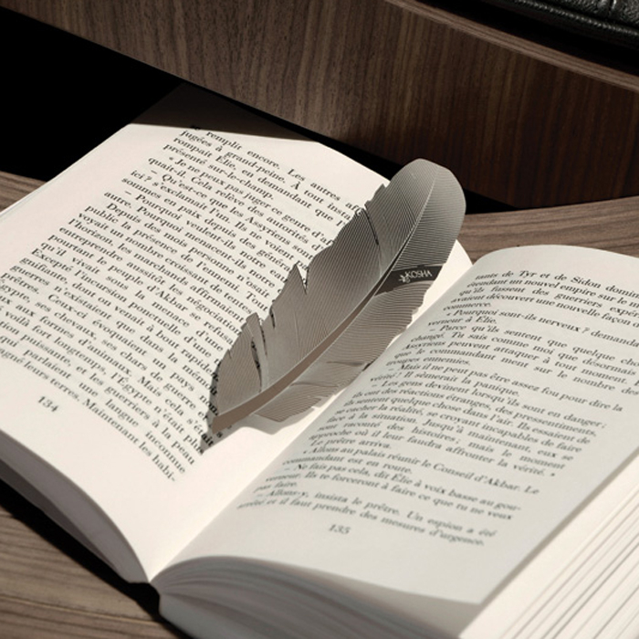 Kosha Feather Bookmark