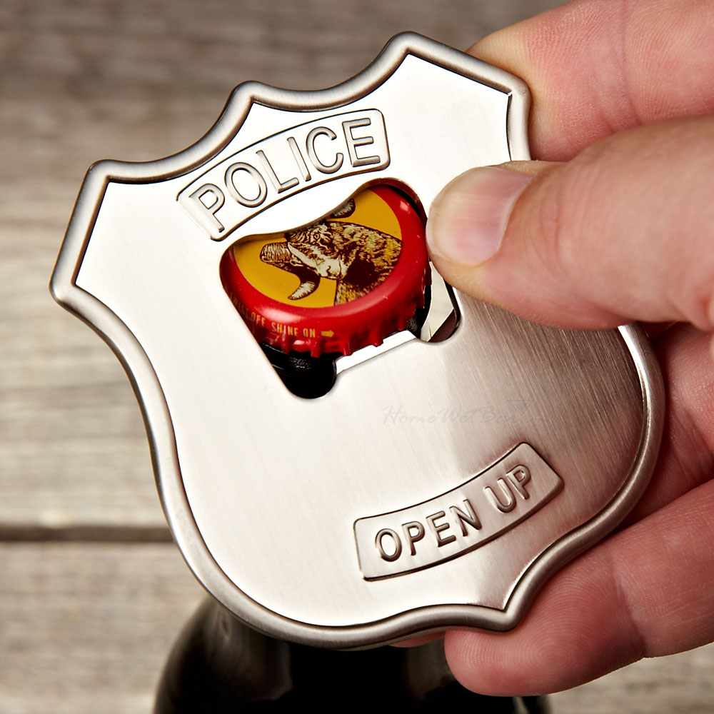 Police Badge Opener