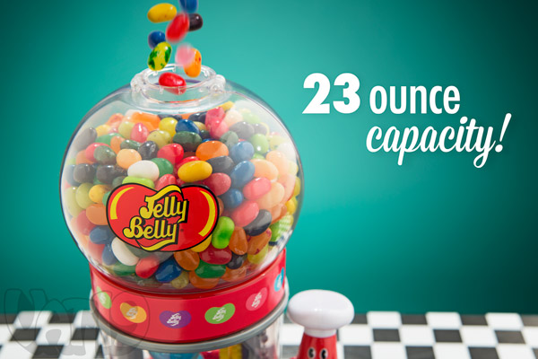 Jelly Belly Dispenser Capacity