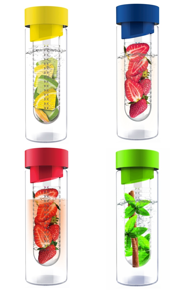 AdNArt Flavour It Glass Bottle with Fruit Infuser
