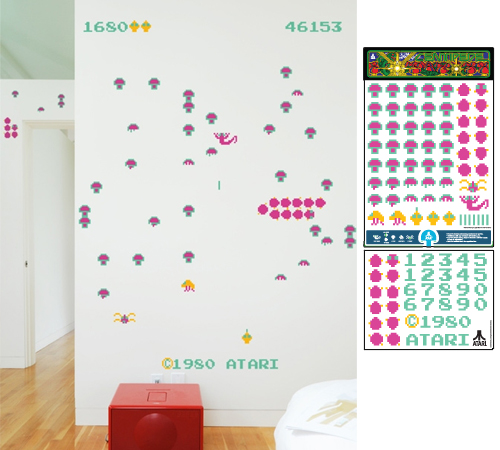 Centipede Wall Graphics