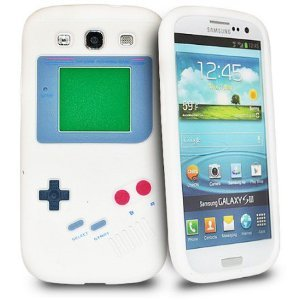 Game Boy Soft Skin Silicone Case for Samsung Galaxy S3