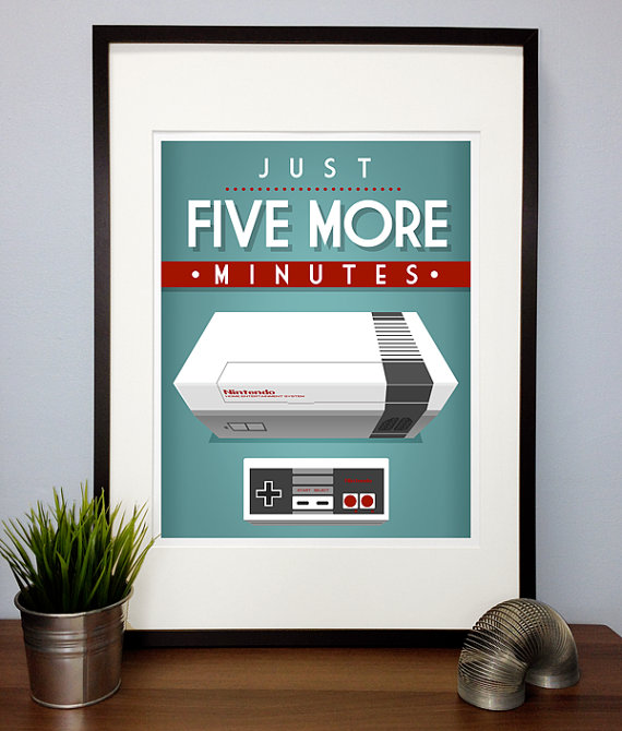 Just five more minutes Poster