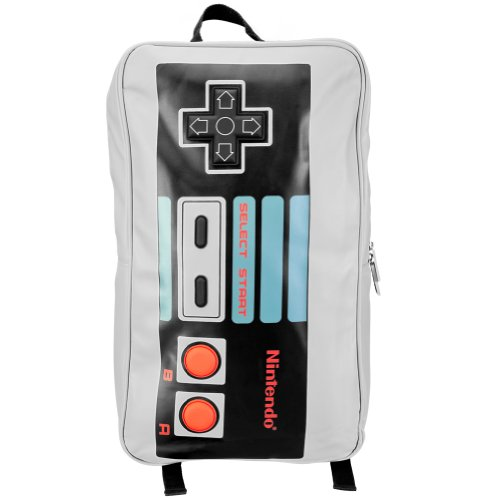 Nintendo NES Controller Grey Backpack