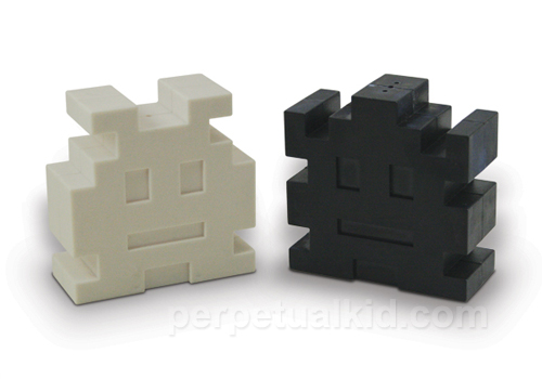 Retro Arcade Salt and Pepper Shakers