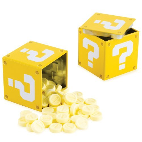 Super Mario Bros. Question Mark Box Coin Candies