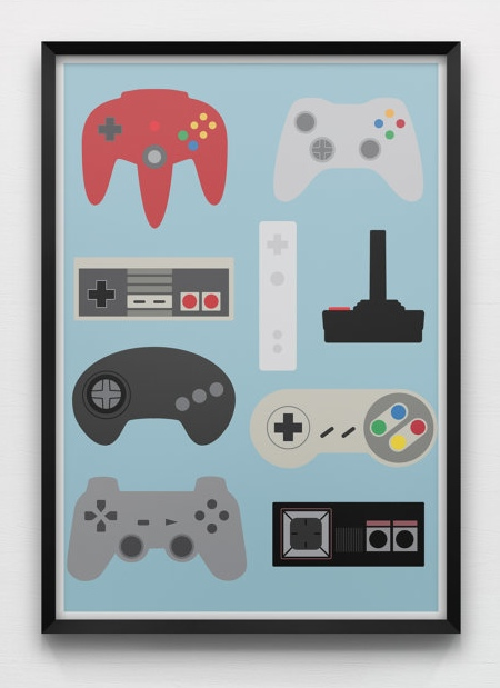 17 Cool Retro Video Game Inspired Stuff