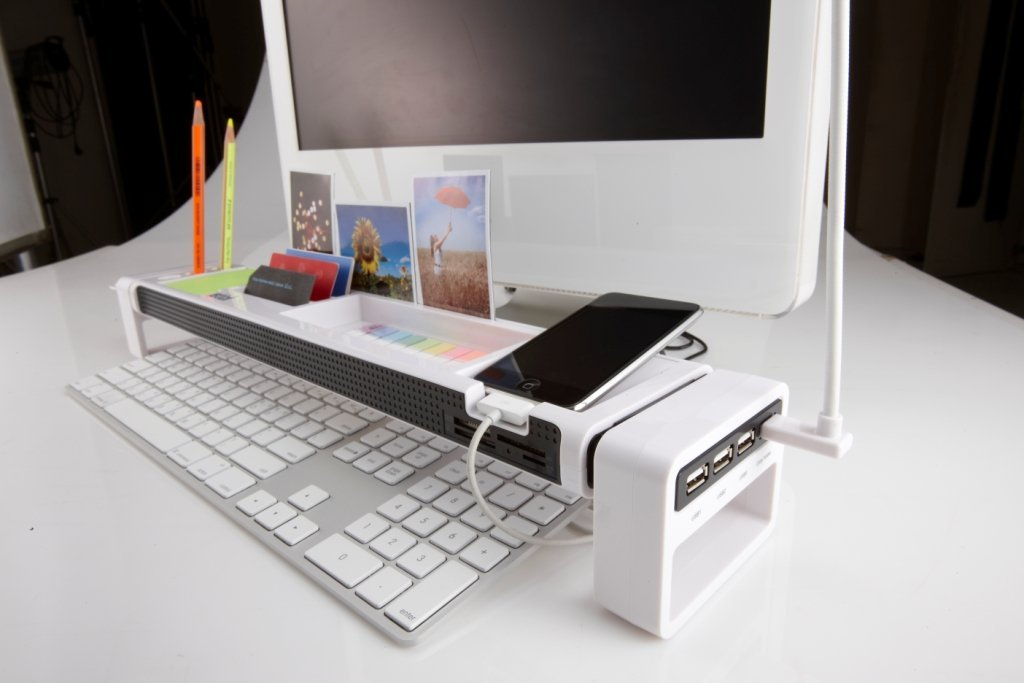 the best office desk. istick multifunction desktop organizer the best office desk