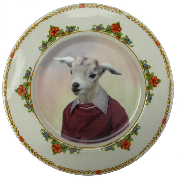 Altered Antique Plate