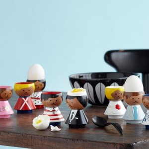 Bordfolk Egg Cups by Lucie Kaas