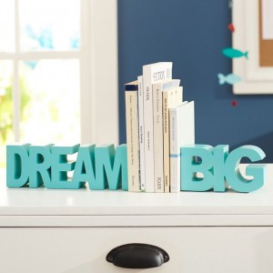 Dream Big Bookends