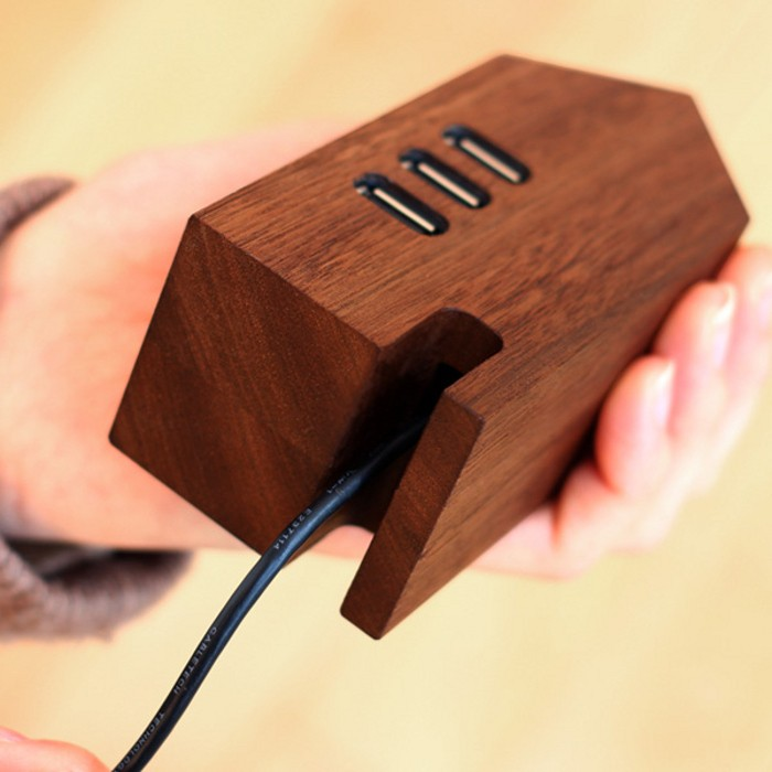Hacoa Wooden USB Hub House9