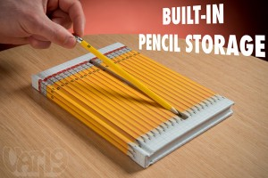 Hidden Pencils Notebook