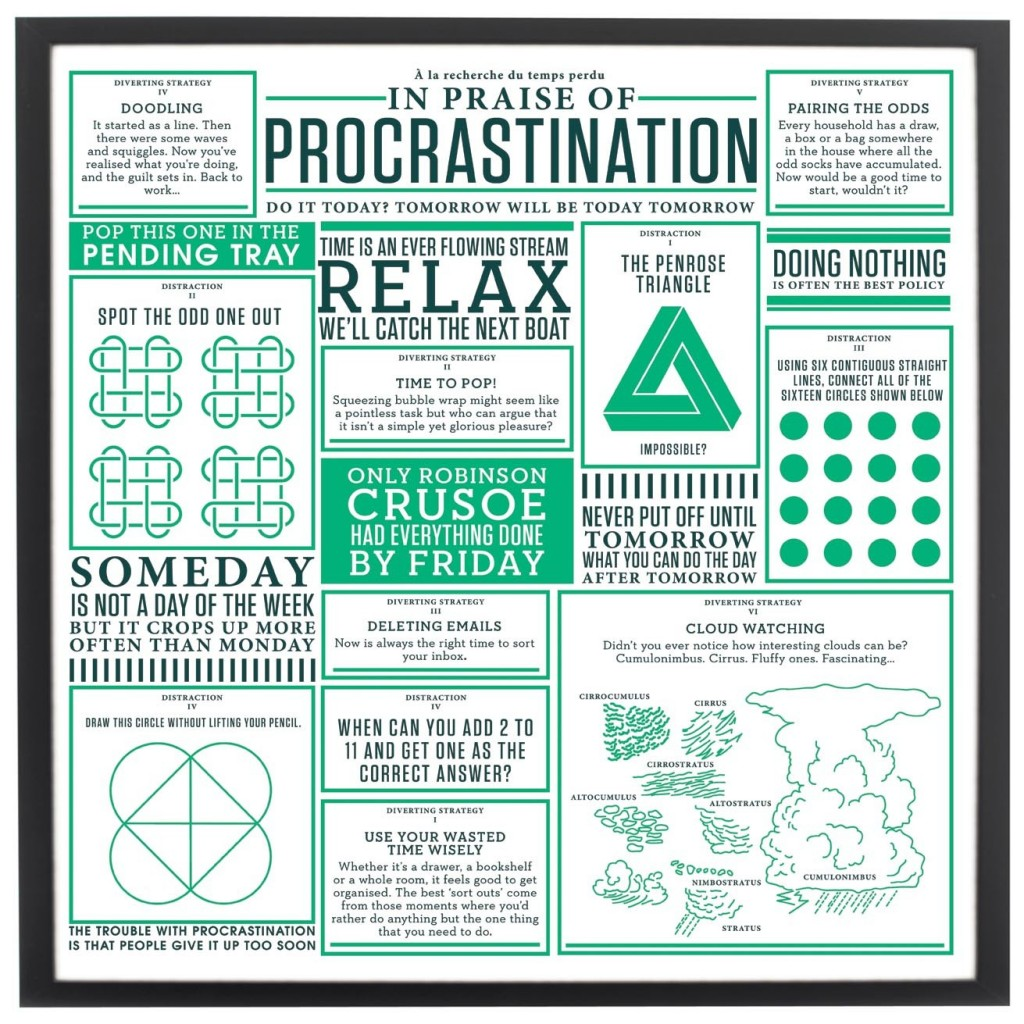 In Praise of Procrastination Print